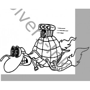t17 turbo turtle divers ink